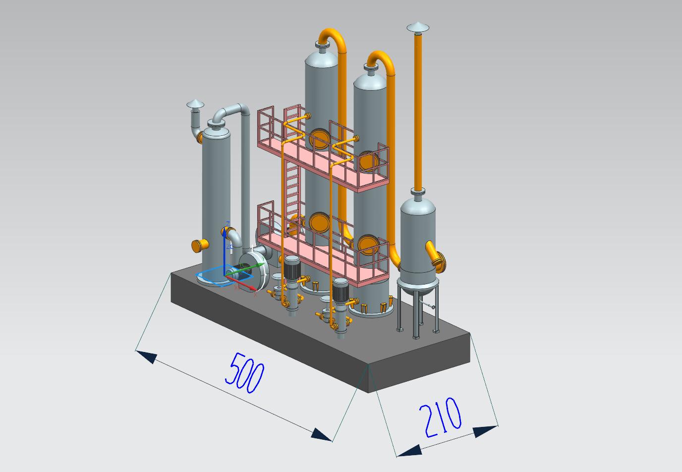 沥青尾气处理系统