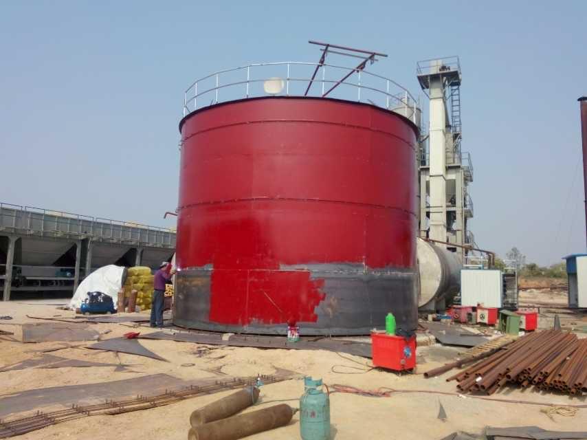 5000吨下导热油加温罐