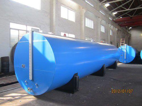 高效25T-100吨可移动沥青罐